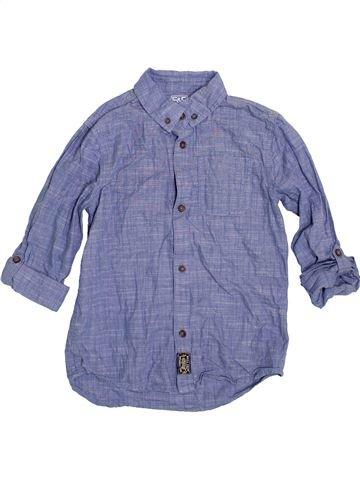 Camisa de manga larga niño F&F azul 9 años invierno #1396918_1