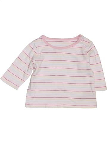 T-shirt manches longues fille MARKS & SPENCER blanc 1 mois hiver #1396980_1