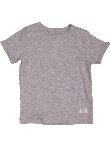 T-shirt manches courtes garçon DEBENHAMS gris 3 ans été #1397030_1