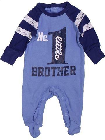 Pyjama 1 pièce garçon MATALAN bleu prématuré été #1397377_1