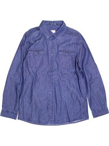 Camisa de manga larga niño CYRILLUS azul 10 años invierno #1397425_1