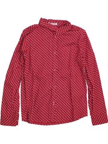Chemise manches longues garçon TAPE À L'OEIL rouge 10 ans hiver #1397430_1