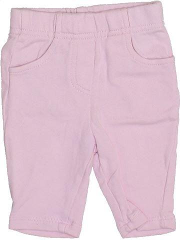 Pantalon fille PREMAMAN rose 1 mois été #1397534_1