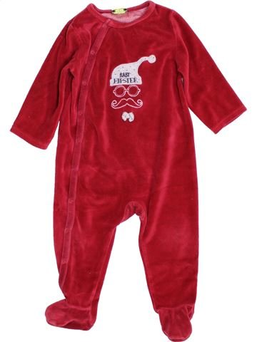 Pijama de 1 pieza niño TAPE À L'OEIL rojo 12 meses invierno #1397650_1