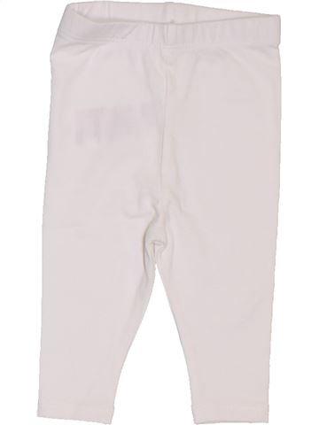 Legging fille VERTBAUDET blanc 1 mois hiver #1397692_1