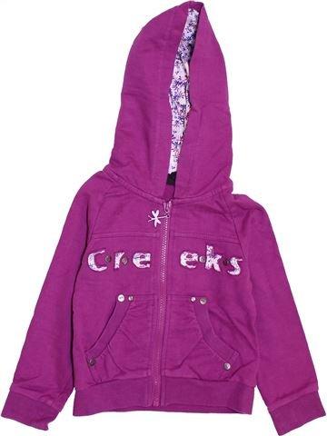 Sweat fille CREEKS violet 3 ans hiver #1397732_1
