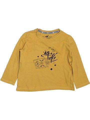 T-shirt manches longues garçon SERGENT MAJOR jaune 3 ans hiver #1397931_1