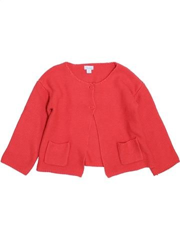 Gilet fille KIMBALOO rouge 2 ans hiver #1397935_1