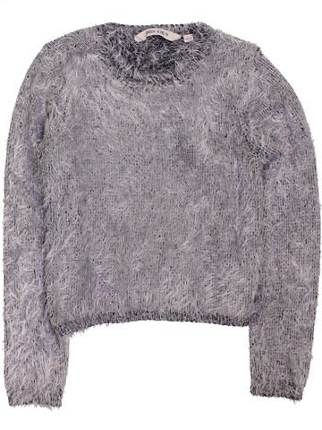 Pull fille GARCIA JEANS gris 11 ans hiver #1397965_1