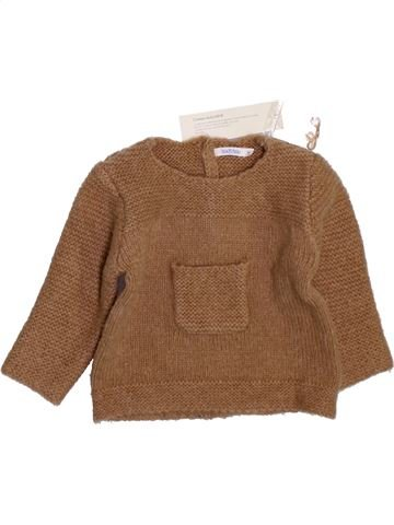 jersey niño BOUT'CHOU marrón 9 meses invierno #1398022_1