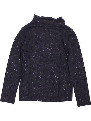 Camiseta de cuello alto niña CFK negro 10 años invierno #1398026_1