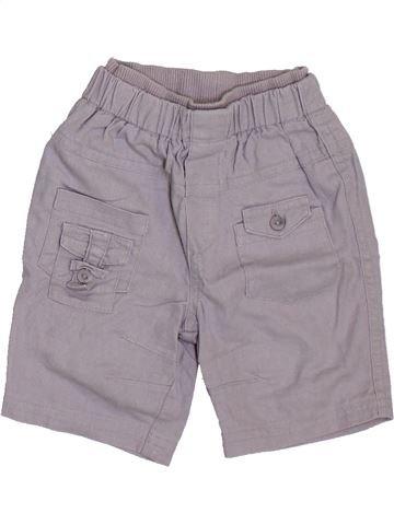 Short - Bermuda garçon ORCHESTRA gris 6 mois été #1398060_1
