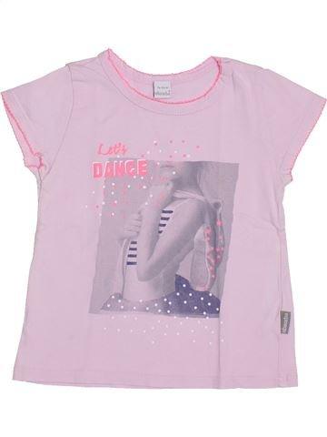 Camiseta de manga corta niña ABSORBA blanco 3 años verano #1398391_1