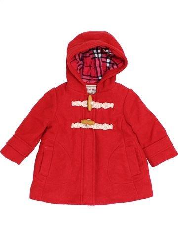 Abrigo niña NEXT rojo 9 meses invierno #1398669_1