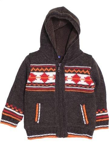 Veste garçon CHEROKEE marron 2 ans hiver #1398825_1
