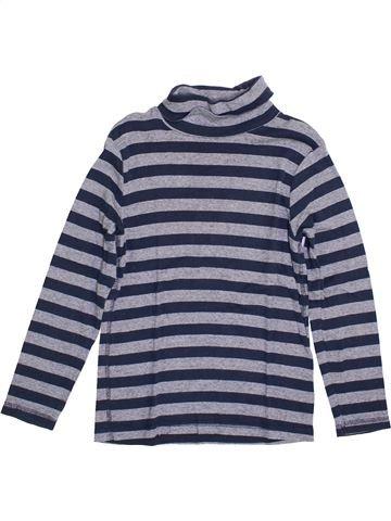 Camiseta de cuello alto niño KIABI gris 10 años invierno #1399400_1