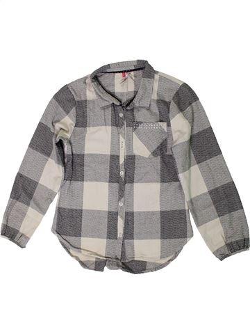Blusa de manga larga niña ORCHESTRA gris 10 años invierno #1399501_1