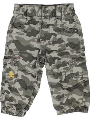 Pantalon fille LULU CASTAGNETTE gris 6 mois hiver #1399614_1