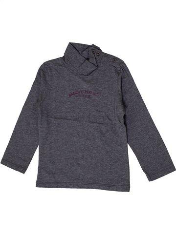 T-shirt col roulé garçon MEXX gris 2 ans hiver #1399621_1