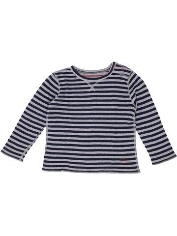 Camiseta de manga larga niño PETIT BATEAU azul 4 años invierno #1399681_1