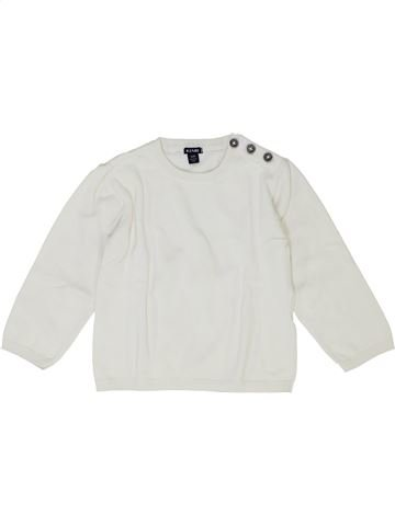 Pull garçon KIABI blanc 3 ans hiver #1399704_1
