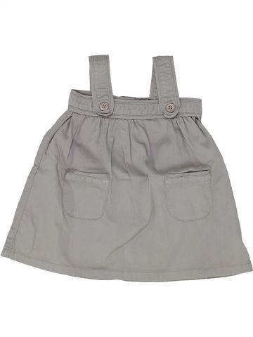 Vestido niña PETIT BATEAU gris 6 meses invierno #1399715_1