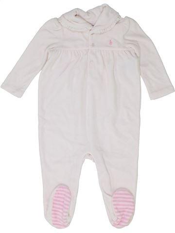 Pijama de 1 pieza niña RALPH LAUREN blanco 9 meses invierno #1399734_1