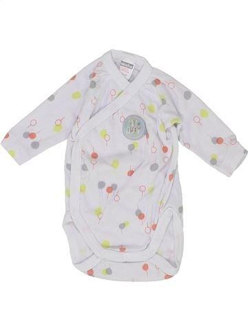 T-shirt manches longues unisexe ABSORBA blanc naissance hiver #1399767_1