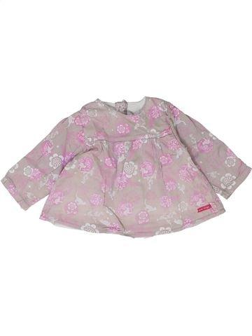 Blusa de manga larga niña SUCRE D'ORGE gris 9 meses invierno #1399823_1