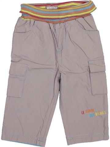Pantalon garçon ORCHESTRA gris 6 mois hiver #1399889_1