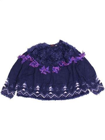 Pull fille CATIMINI bleu 4 ans hiver #1400045_1