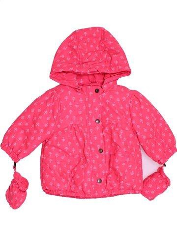 Abrigo niña VERTBAUDET rosa 6 meses invierno #1400070_1