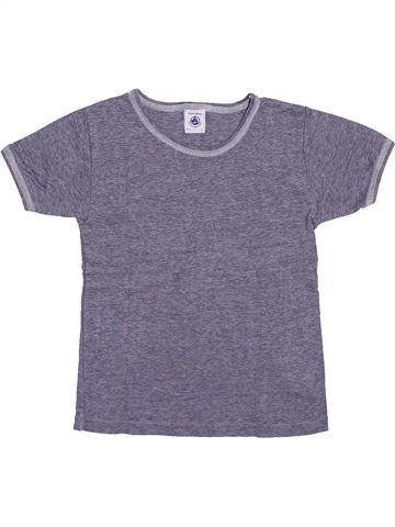 Camiseta de manga corta niño PETIT BATEAU violeta 6 años verano #1400150_1