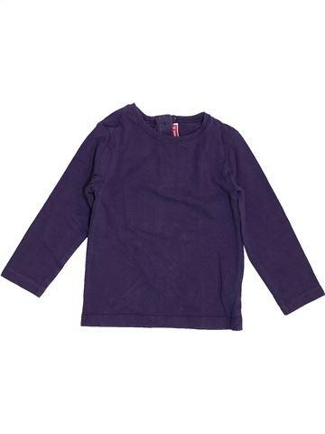 Camiseta de manga larga niña DPAM azul 2 años invierno #1400166_1