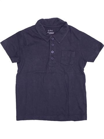 Polo de manga corta niño CFK azul 5 años verano #1400251_1