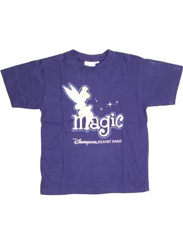 T-shirt manches courtes fille DISNEY bleu 12 ans été #1400296_1