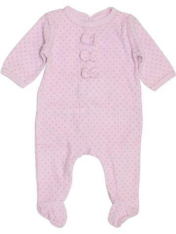 Pijama de 1 pieza niña JACADI rosa 3 meses invierno #1400345_1