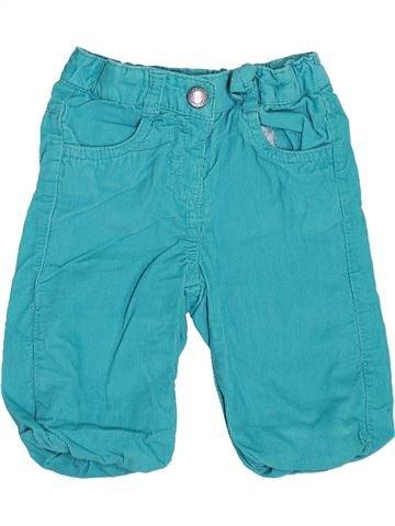 Pantalon fille KIABI bleu 3 mois hiver #1400374_1