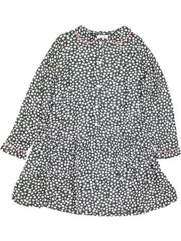 Vestido niña LA REDOUTE CRÉATION gris 8 años invierno #1400430_1