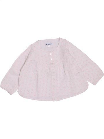 Blusa de manga larga niña VERTBAUDET blanco 18 meses invierno #1400448_1