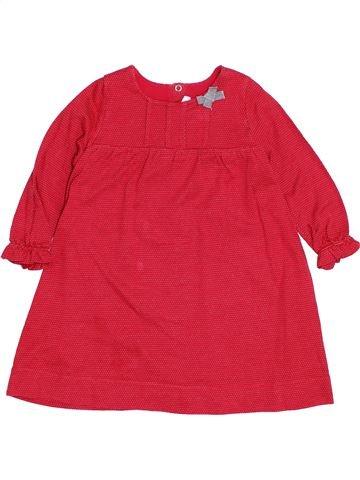 Vestido niña PETIT BATEAU rojo 2 años invierno #1400455_1