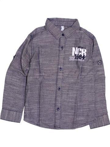 Camisa de manga larga niño GEMO violeta 4 años invierno #1400475_1