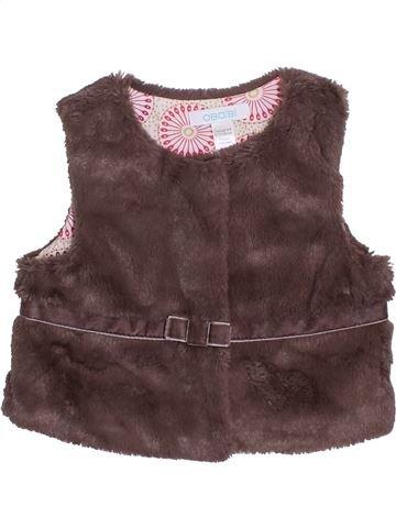 Gilet fille OKAIDI violet 6 mois hiver #1400485_1