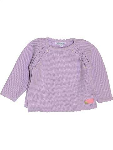 Pull fille PREMAMAN violet 3 mois hiver #1400490_1