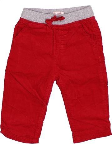 Pantalon garçon DPAM rouge 12 mois hiver #1400591_1