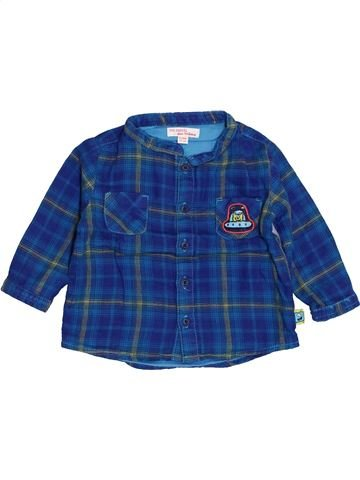 Camisa de manga larga niño DPAM azul 9 meses invierno #1400607_1