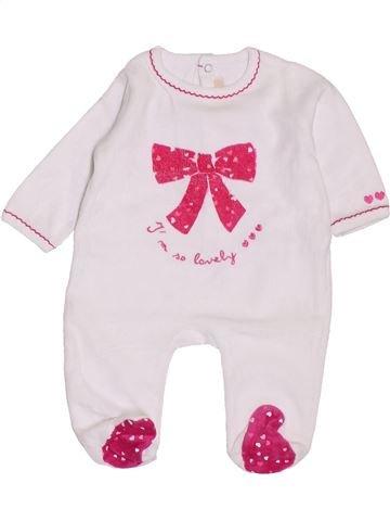 Pijama de 1 pieza niña GEMO rosa 1 mes invierno #1400654_1