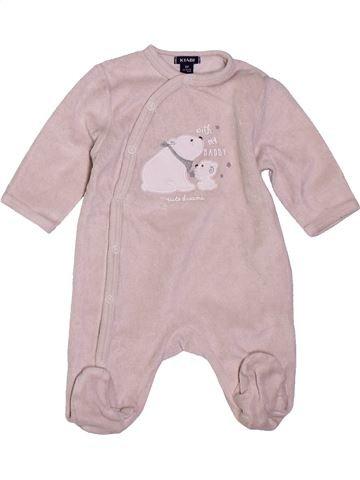 Pijama de 1 pieza niño KIABI gris 1 mes invierno #1400816_1