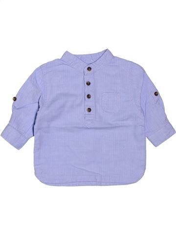 Camisa de manga larga niño KIABI violeta 3 meses invierno #1400818_1