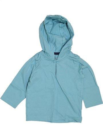 T-shirt manches longues garçon VERTBAUDET bleu 12 mois hiver #1400847_1
